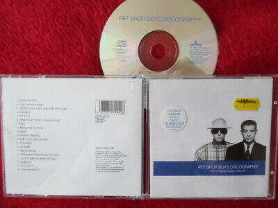 The Pet Shop Boys - Discography (The Complete Singles Collection) - Cd Album
