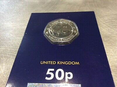 OUT NOW !! The 50p Wallace and Gromit 30th anniversary coin - BU