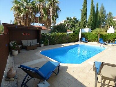 Cyprus Holiday Villa To Rent With Car: 3 Bed + Private Pool. 8th - 15th Dec 2019