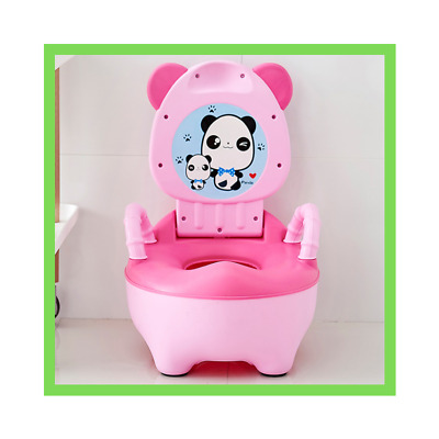 Portable Baby Pot Cute Toilet Seat For Kids Potty Training Seat Potty Bowl