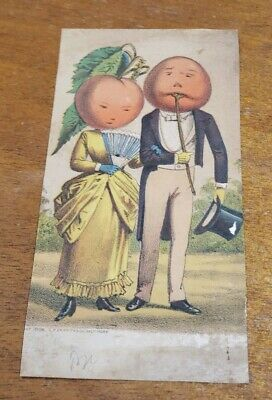 Antique Early Advertising Trade Card 1886 Sinclair & Mitchell's Parlor Circus MD