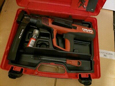 Hilti DX 76 PTR nail gun with Magazine 76. Used