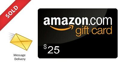 $ 25 Amazon 🛒 Gift card  🇺🇸  ( EMAIL DELIVRY  WORKWIDE ) ⭐⭐⭐⭐⭐