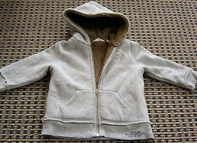 Country Road  Boys Cotton  Zip Front Hoodie Jacket Sz 5