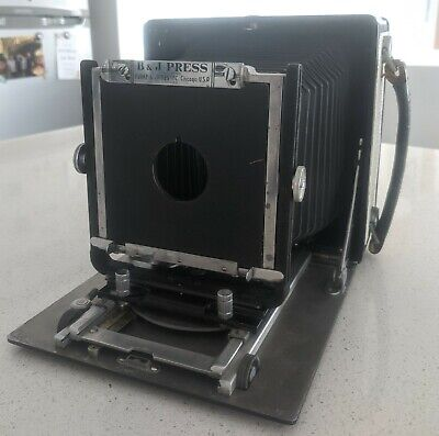Burke and James 4x5 large format film camera - refurbished