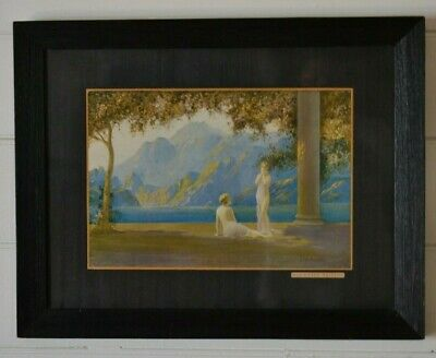 Antique 1900's  lithoprint Jean Lasalle by Oilette Sun Kissed Maidens lithograph