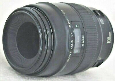 Canon EF 100mm f/2.8 Macro Lens Excellent+ No. 0800079M