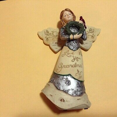 Loves You Grandma Christmas Figure From Elements #82204