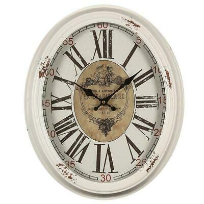 Nostalgia Wall Clock Heavy Finish with Integrated Aging Traces