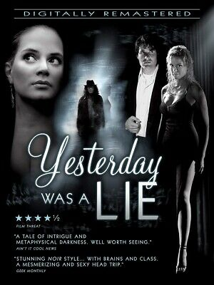 Yesterday Was A Lie DVD 2019 BRAND NEW FAST SHIPPING