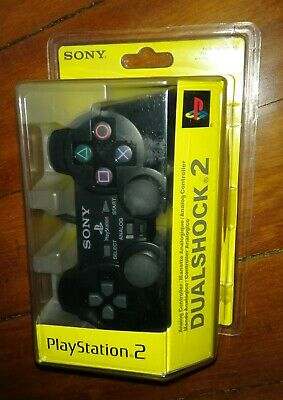 playstation 2 controller pad dualshock2 oficial sony ps2 brand new sealed