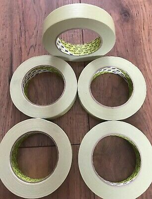 5x 3M Green Scotch Masking Tape