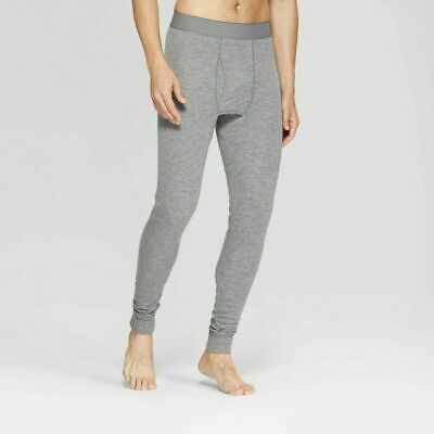 Men's Wool Blend Thermal Underpants - Goodfellow & Co. - Heather Gray - Size XXL