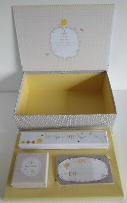 Baby Keepsake Memory Box Set /Halmark /Baby Shower/Christening Gift
