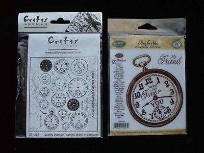 Rubber Stamps Clock Watch Parts Separate Many Options Pocketwatch Stem England