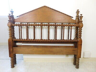 Awesome Antique Spool Bed Jenny Lind Bed Footboard Rail Panel Ocoug Best Dining Table And Chair Ideas Images Ocougorg