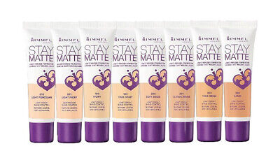 RIMMEL LONDON Stay Matte Liquid Mousse Foundation 30 ml - CHOOSE YOUR SHADE