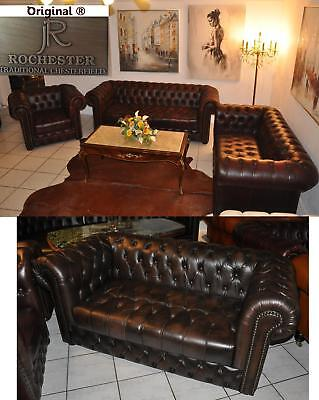 Chesterfield  Rochester -KC Original Royal Wales  geknöpfter Sitz A100