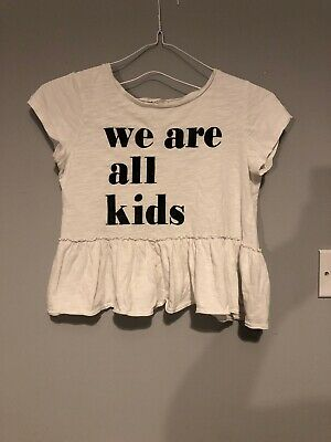 H&M Age 4-5 Top We Are All Kids