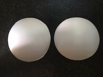 Super soft round bra cup molded white Size B      ~Extremely Comfortable~
