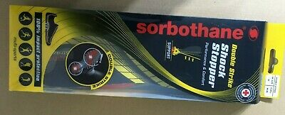 Sorbothane DOUBLE STRIKE Insoles Shock Stopper- UK Size 10