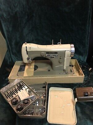 Necchi Supernova Automatica Sewing Machine with Case And Extras!