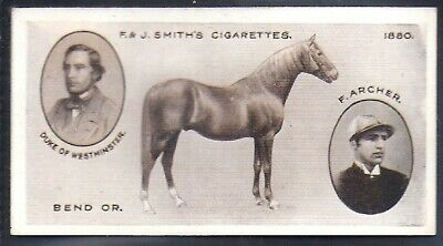 Smiths-Derby Winners-#17- Horse Racing - Bend Or
