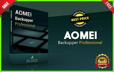 AOMEI Backupper Professional V 5.2.0 🔐 LifeTime License KEY 🔐 Fast Delivery 📥
