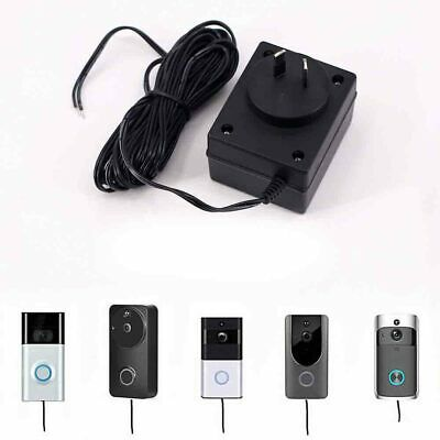 AU Plug Power Supply AC Adapter Battery Charger 5m For Ring Video Doorbell 2Pro。