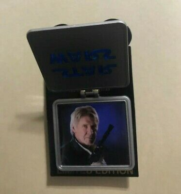 Disney Pin Star Wars The Force Awakens Han Solo Frame Limited Edition