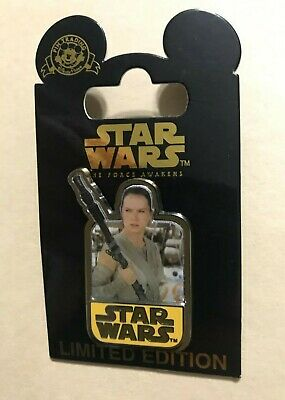 Disney Pin Star Wars The Force Awakens Rey Countdown #5 Limited Edition