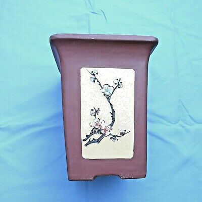 Antique Chinese Clay Planter Pot