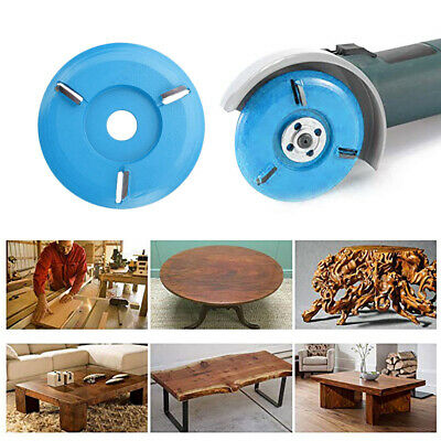 Woodworking Turbo Tea Tray Digging Wood Disc Tool 16mm Aperture Angle Grinder