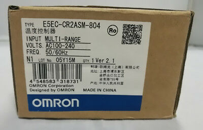 1PC NEW Omron Temperature Controller E5EC-CR2ASM-804 100-240VAC