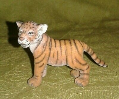 Schleich Tiger Cub, Retired (2007) - 14371, Two Available