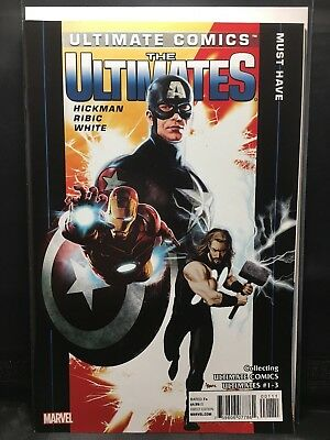 Ultimate Comics  The Ultimates #1-3  Marvel Comic Book  1st print  VF/NM
