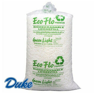 ECOFLO LOOSE FILL *ANY QTY* Biodegradable/Void Fill/Packaging/Packing Peanuts