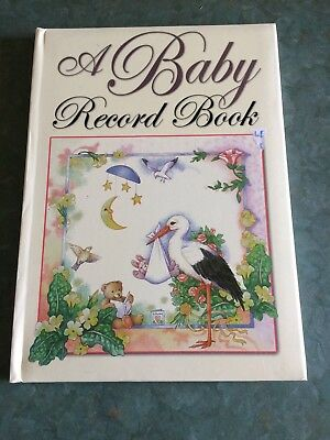 A Baby Record Book: AS NEW