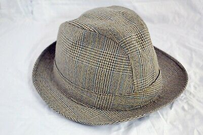 Vintage Mens Dunn & Co Tweed Hat 58 / 7 ##BLAb8