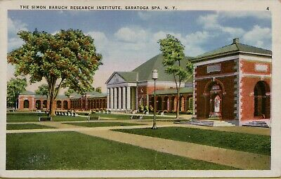 Vintage Postcard Saratoga Springs New York Simon Baruch Research Institute