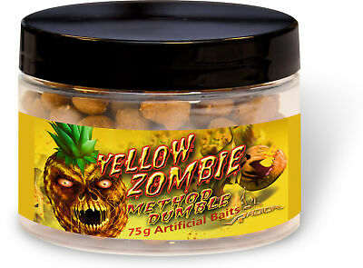 13,32EUR//100g Radical Boilie Yellow Zombie Neon Pop Ups 16mm//20mm 75g