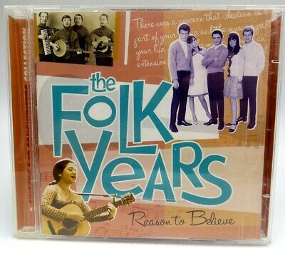 The Folk Years ♫ Various Artists ♫ 30 Tracks of Great Classic Rock ♫ 2 CD Set
