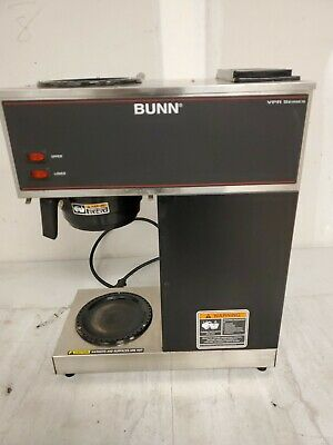 Bunn VPR BLK 2 Burner #33200.0002 Commercial Pourover Coffee Brewer