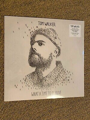 Tom Walker What a Time to Be Alive Vinyl New Sealed
