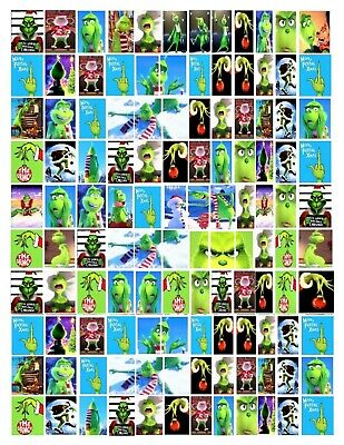 """Water Decal And Wraps for nails """"The Grinch"""" bonus pages A Total Of 4 8 x 11 Pgs"""