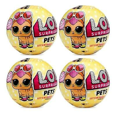 L.O.L. Surprise! Pet Series 3 4-Pack LOL Doll Mystery Pack Wave-1 Figure CHOP