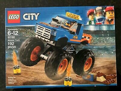 LEGO® City  Monster Truck 60180 192 Pcs    NEW, SEALED! SHIPS FREE!