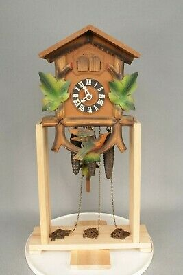 Semi-working Musical Black Forest Wall Cuckoo Clock, Music Box Needs Attention.