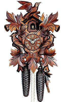 Hubert Herr,  Large Black Forest made weight driven mechanical cuckoo clock.