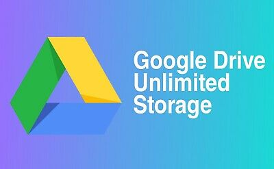Lot Of 10 G-Suite Unlimited For Existing Acc No More Limit On Your G-Drive